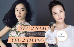 Mới yêu Cường Đô la, Đàm Thu Trang đã \