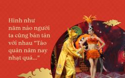 Ngọc Hoàng lom khom tặng tiền hot girl và chuyện Táo quân phải thay đổi mạnh mẽ