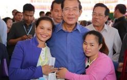 Thủ tướng Hun Sen dọa đuổi vào tận nhà và đánh người biểu tình nếu bị đốt ảnh