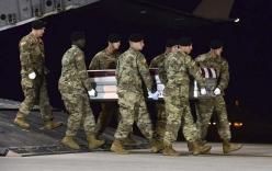 IS tung video 50 phiến quân phục kích và sát hại 4 lính Mỹ