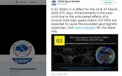 Hôm nay 14/3, bão Mặt Trời sẽ đổ bộ Trái Đất, cơn bão sẽ phá hủy hệ thống định vị GPS?
