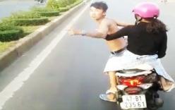 Thông tin mới nhất vụ nam thanh niên chở bạn gái lạng lách chặn đầu ôtô