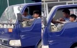 Vụ bé trai điều khiển xe tải gây xôn xao: Người chú bị phạt 8 triệu đồng