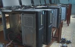 Trộm đột nhập trường học, lấy cắp hàng loạt linh kiện máy tính