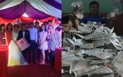 Mừng cưới bằng tiền lẻ trở thành trào lưu mới, nhiều cặp đôi thức trắng đêm tân hôn chỉ để đếm tiền