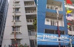 Cháy chung cư 13 người chết: Tuyệt vọng, người dân tự buộc quần áo đu xuống đất