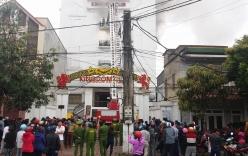Hà Tĩnh: Cháy quán karaoke, chưa xác định được người thương vong