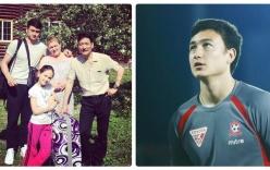 Hình ảnh bên gia đình của Văn Lâm - thủ thành điển trai đang