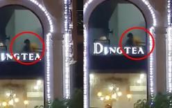 """Lại thêm một cặp đôi """"mây mưa"""" tại quán trà sữa ở Hải Phòng"""