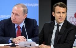 Tiết lộ cuộc điện thoại giữa ông Putin và Tổng thống Pháp trước khi tấn công Syria