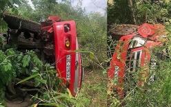 Xe bồn rơi xuống vực đèo, tài xế văng khỏi cabin tử vong tại chỗ