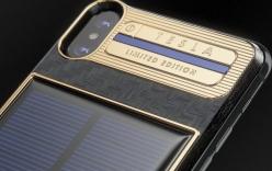 Xuất hiện iPhone X Tesla giá gần tỷ đồng, có pin mặt trời lướt web cả ngày không lo hết