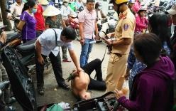 CSGT cùng dân truy đuổi bắt gọn đối tượng trộm xe trên đường phố Sài Gòn