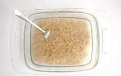 Không ai tin cơm có thể nấu bằng hộp thủy tinh cho đến khi bát cơm tơi xốp được dọn lên bàn