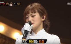 Hé lộ danh tính cô gái mặc áo dài Việt Nam trong show hát giấu mặt Hàn Quốc