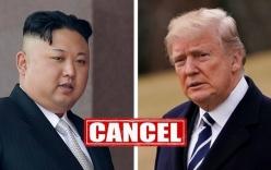 Ông Trump sẵn sàng hủy hội nghị thượng đỉnh với Triều Tiên