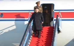 Ông Kim Jong Un đã tới Singapore trên máy bay của Trung Quốc