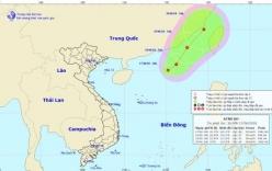 Xuất hiện áp thấp nhiệt đới mới trên Bắc biển Đông