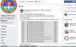 Điểm thi tại Nghệ An bị lộ trước ngày công bố do