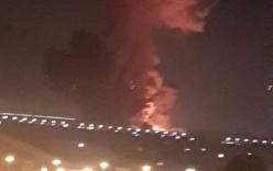 Nổ lớn kho nhiên liệu gần sân bay quốc tế Ai Cập, 12 người bị thương