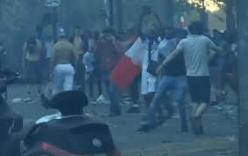 Pháp vừa vô địch, cổ động viên đã choảng nhau với cảnh sát ngay giữa Paris