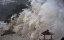 Bão số 3 giật cấp 10 đang di chuyển nhanh vào các tỉnh từ Hải Phòng đến Hà Tĩnh