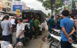 Cảnh sát bao vây khách sạn, nổ súng, truy bắt nhóm người có hung khí ở Sài Gòn