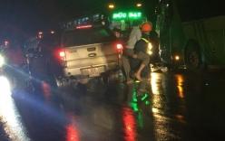 Tai nạn giao thông nghiêm trọng: Hai xe giường nằm tông mạnh, 24 người bị thương, tài xế và phụ xe mắc kẹt