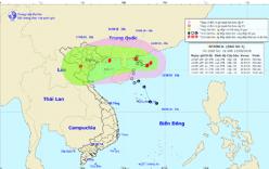 Bão số 4 đổi hướng giật cấp 10 hướng vào Quảng Ninh đến Nam Định