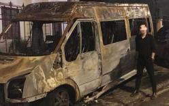 Hiện trường vụ dùng xe hút bể phốt chữa cháy bất ngờ thành nơi check-in của vài bạn trẻ