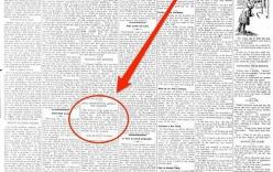 Sửng sốt bài báo cách nay 106 năm