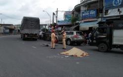 Người phụ nữ bán vé số tử vong sau va chạm với xe tải