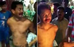Cưỡng hiếp khiến nữ sinh mang thai, giáo viên bị lột sạch quần áo mang đi diễu hành trên phố