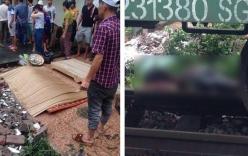 Hà Nội: Xe chết máy tại đường sắt, thiếu nữ 17 tuổi bị tàu hỏa đâm tử vong