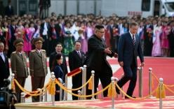 Thượng đỉnh liên Triều: 2 nhà lãnh đạo Moon-Kim nồng ấm như bạn hữu lâu ngày tái ngộ