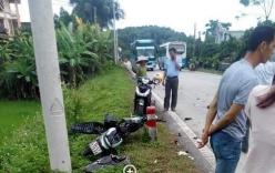 Hai cha con tử vong thương tâm dưới bánh xe khách