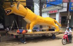 Xuất hiện linh vật Trung Thu khổng lồ lai giữa chó Chihuahua và chồn Scrat khiến cư dân mạng cười nghiêng ngả