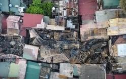 Vụ phát hiện 2 thi thể trong đám cháy ở Đê La Thành : Đã xác định được nguyên nhân hỏa hoạn