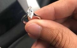 Nhặt được nhẫn kim cương gần 600 triệu, tài xế taxi quyết trả lại chủ
