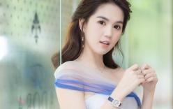 Ngọc Trinh đeo đồng hồ nạm kim cương hơn 1 tỷ đồng, xuất hiện nổi bật như công chúa tại sự kiện