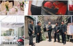 Toàn cảnh lễ rước dâu của Trường Giang - Nhã Phương: Mẹ cô dâu khóc, 6 vệ sĩ xuất hiện