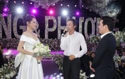 Clip nghệ sĩ Hoài Linh hát tặng đám cưới Trường Giang - Nhã Phương