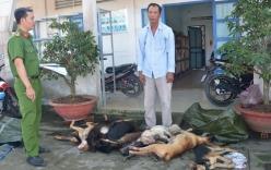 Bắt quả tang người đàn ông chở 11 xác chó lúc rạng sáng