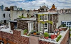 Căn hộ nhỏ xây trên sân thượng tòa chung cư cũ có gì đặc biệt khi được rao bán với giá gần 82 tỷ đồng?