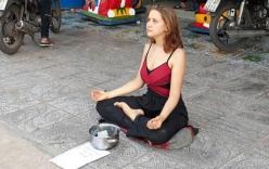 Cô gái Nga từng ngồi vỉa hè Phú Quốc xin tiền tái xuất với chiêu mới