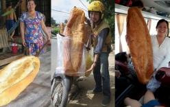 Bánh mỳ khổng lồ ở An Giang lọt danh sách món ăn kỳ lạ nhất thế giới