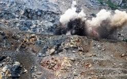 Công an nói gì về vụ nổ mìn phá đá làm chết người?