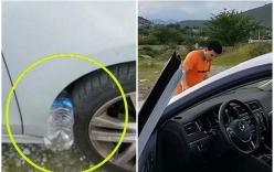Chiêu thức trộm cắp xe ô tô vô cùng tinh vi chỉ với 1 chai nhựa, xem ngay để cảnh giác