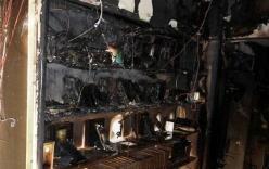 Cửa hàng điện thoại bốc cháy dữ dội, thiệt hại hàng tỷ đồng