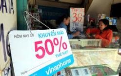 Khuyến mại thuê bao trả trước sẽ được xem xét nâng về mức 50\\%